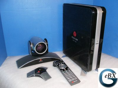 Click for more information about Polycom HDX Video Conferencing Systems.